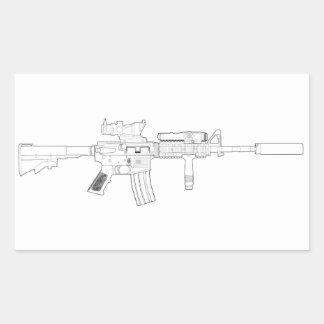 Pegatina de M4 SOPMOD