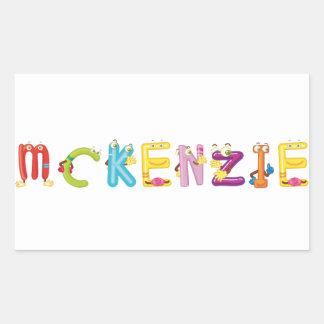 Pegatina de Mckenzie