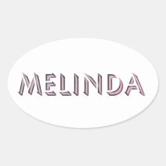 Pegatina de Melinda