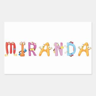 Pegatina de Miranda