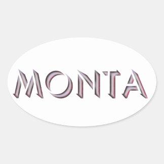 Pegatina de Monta
