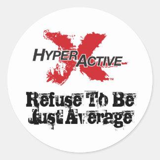 Pegatina de motivación de ExtraHyperActive
