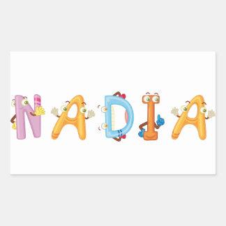 Pegatina de Nadia