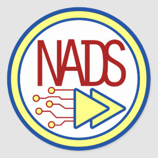 Pegatina de NADS