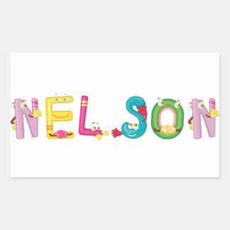 Pegatina de Nelson