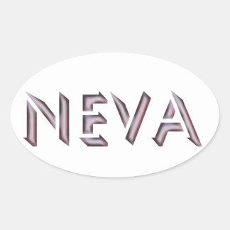 Pegatina de Neva