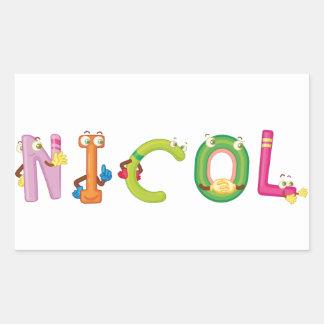 Pegatina de Nicol