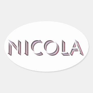 Pegatina de Nicola
