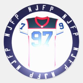 Pegatina de NJFP