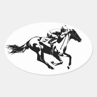 Pegatina de No.1 Horserace