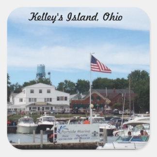 Pegatina de Ohio del puerto deportivo de Portside