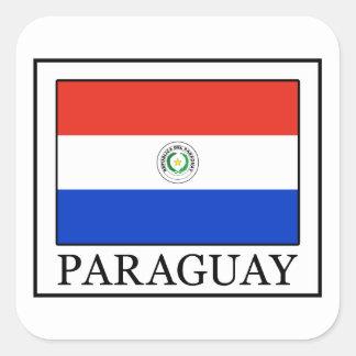Pegatina de Paraguay