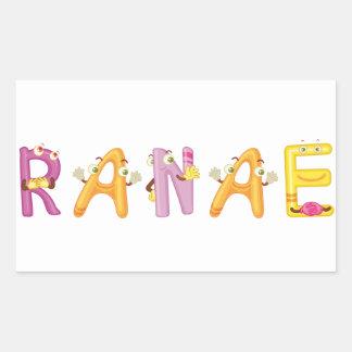 Pegatina de Ranae