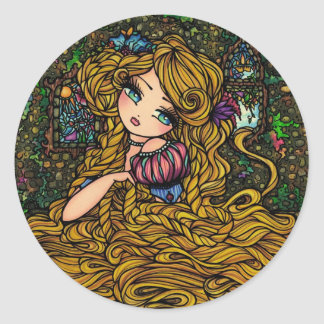 Pegatina de Rapunzel