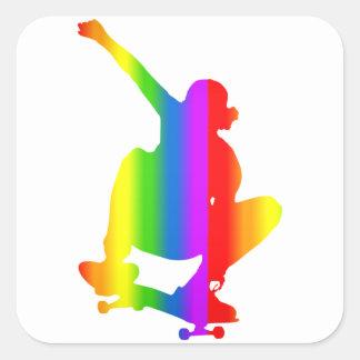 Pegatina de Regenbogen del monopatín del Bunter