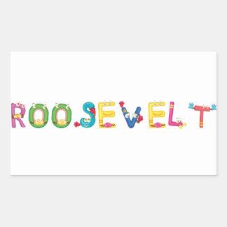 Pegatina de Roosevelt
