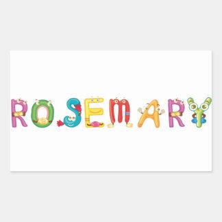 Pegatina de Rosemary