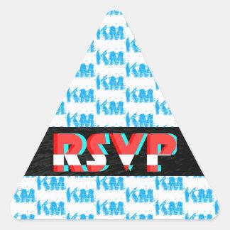 Pegatina de RSVP