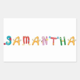 Pegatina de Samantha