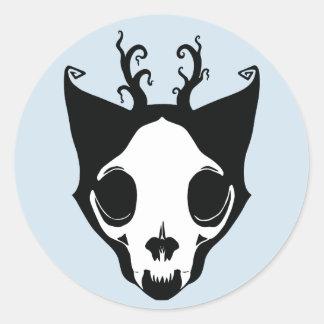 Pegatina de Skullcat