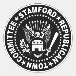 Pegatina de Stamford RTC