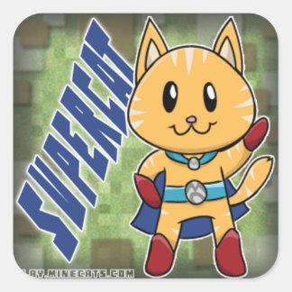 Pegatina de SuperCat Minecats