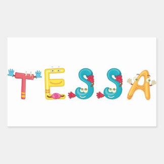 Pegatina de Tessa