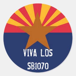 Pegatina de Viva Los SB1070