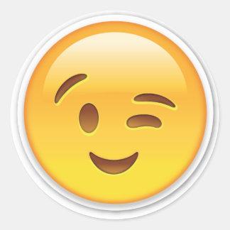 Pegatina de Winky Emoji