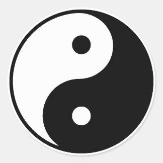 Pegatina de Yin Yang