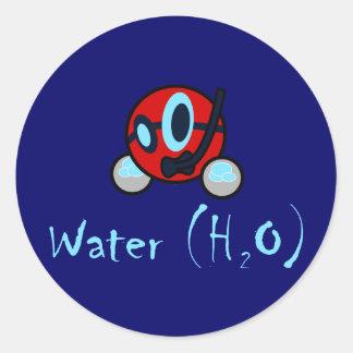 Pegatina del agua
