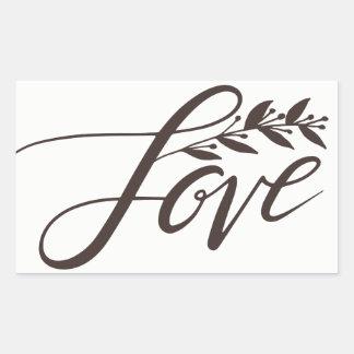 Pegatina del amor