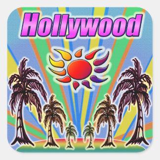 Pegatina del amor del verano de Hollywood