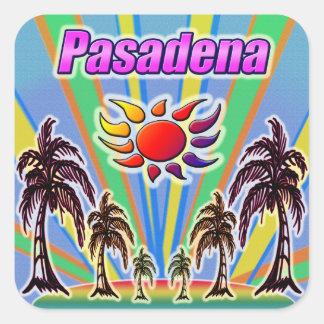 Pegatina del amor del verano de Pasadena