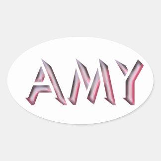 Pegatina del Amy
