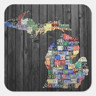 Pegatina del arte de la placa de los condados de