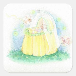 Pegatina del bebé de la primavera