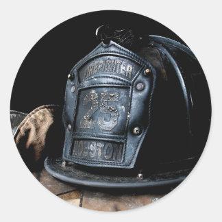 Pegatina del bombero de Houston