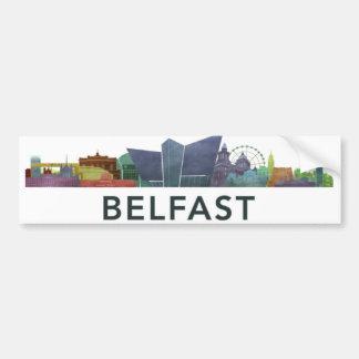 Pegatina del bumber de Belfast