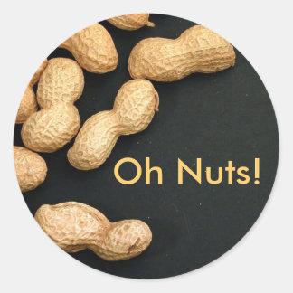 Pegatina del cacahuete