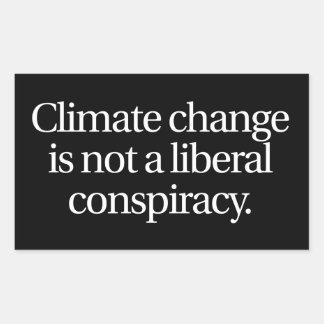 Pegatina del cambio de clima