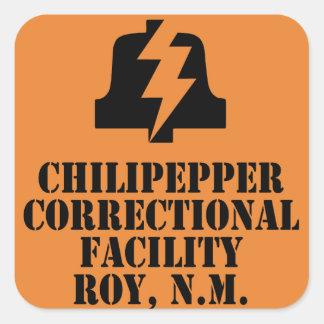 Pegatina del centro penitenciario de Chilipepper