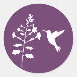 Pegatina del colibrí