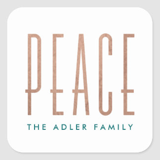 Pegatina del día de fiesta de la paz
