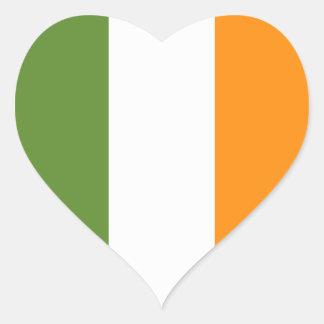 Pegatina del día de la bandera de St Patrick