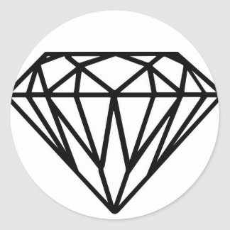 Pegatina del diamante