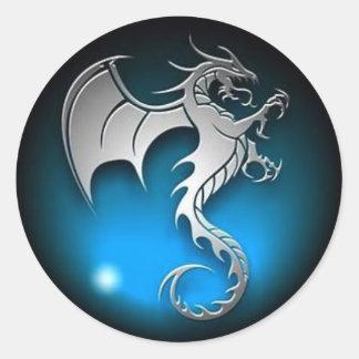 Pegatina del dragón JackSlack44