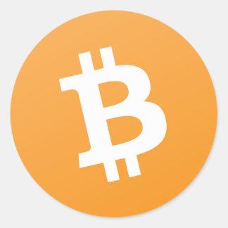 Pegatina del efectivo de Bitcoin