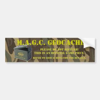 Pegatina del escondrijo de AmmoCan MAGC Pegatina Para Coche