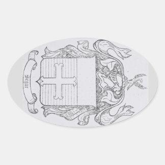 Pegatina del escudo de Segar